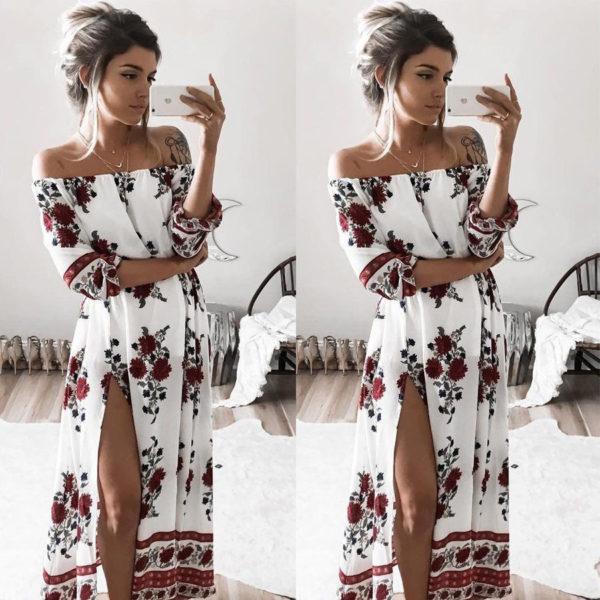 Dámské dlouhé šaty Dalia