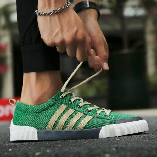 Pánské luxusní canvas sneakers G-3