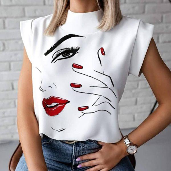 Dámské stylové triko Ellena