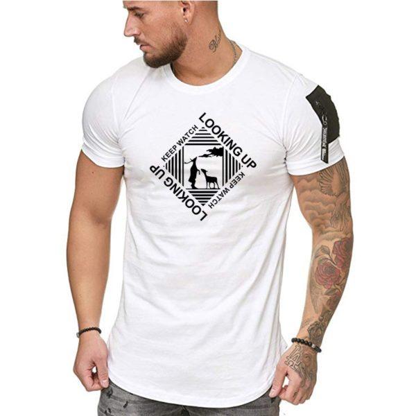 Pánské trendy triko s potiskem Sutton