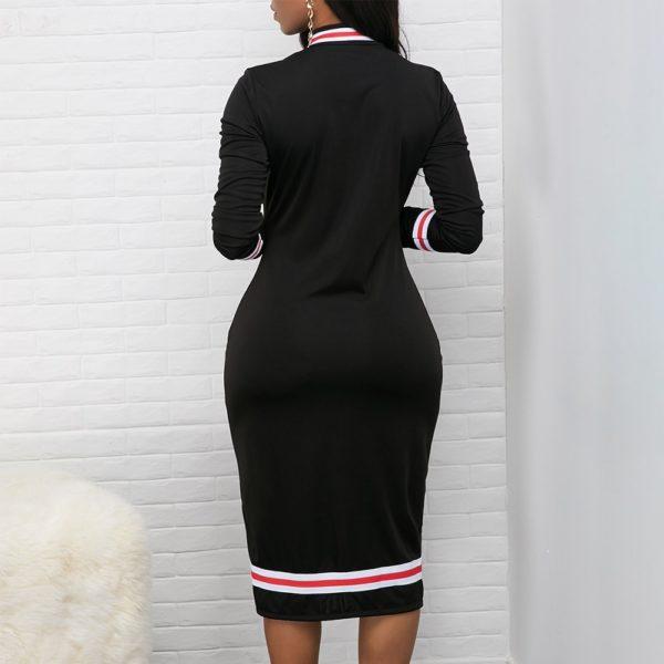 Dámské pouzdrové sportovně elegantní šaty Daphnee