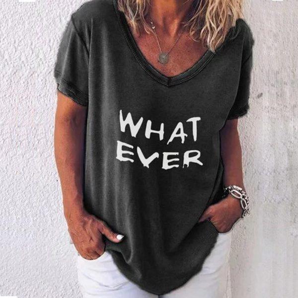 Dámské stylové triko What Ever