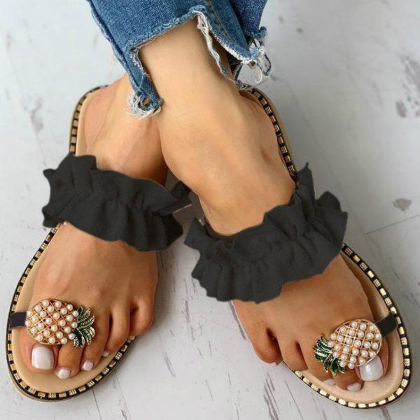 Dámské luxusní sandále Pineapple