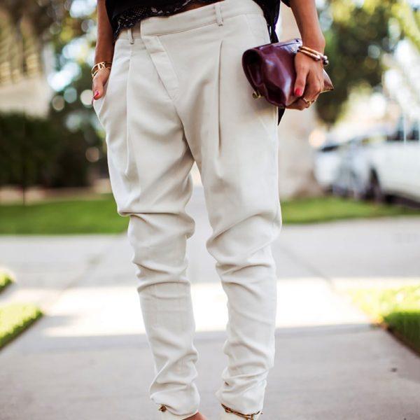 Dámské módní kalhoty Carina - kolekce 2020
