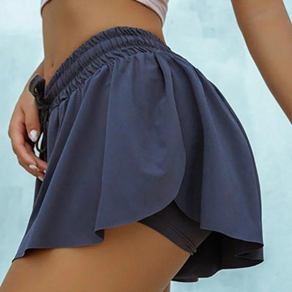 Dámská sportovní sukně se všitými šortkami Briana