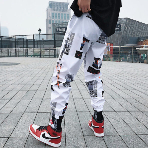 Pánské stylové jogger kalhoty