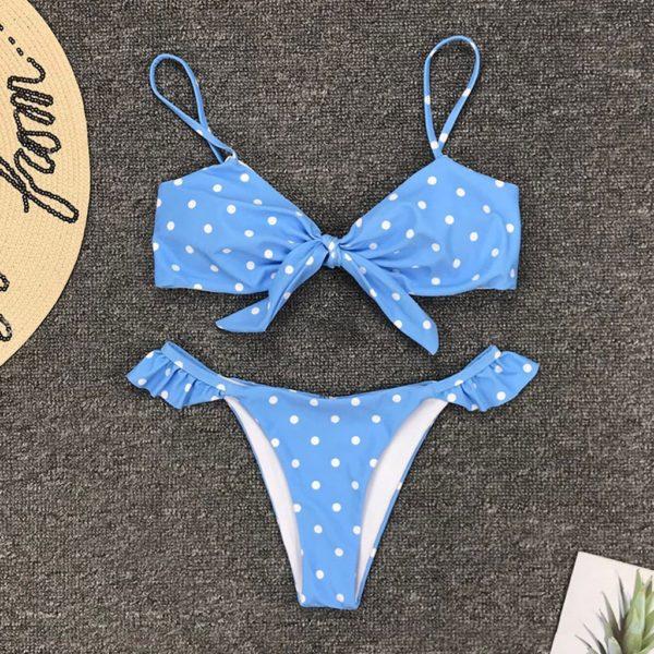 Dámské módní dvoudílné plavky Tiara