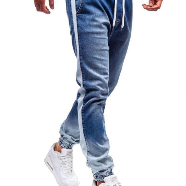 Pánské skinny džíny s lampasy Kendall