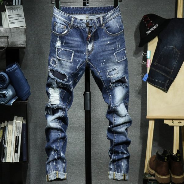 Luxusní pánské džíny Kasey