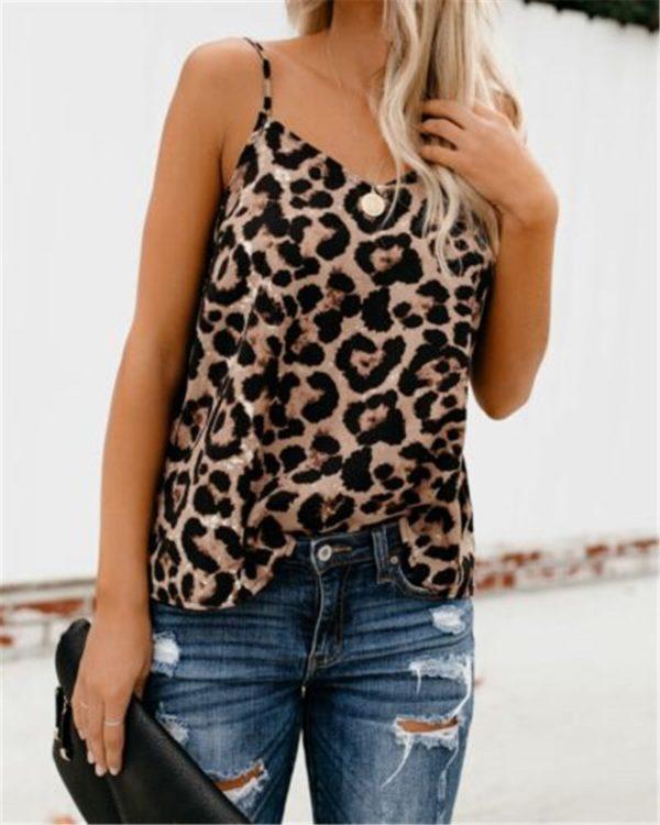 Dámské leopardí tílko Gerrete