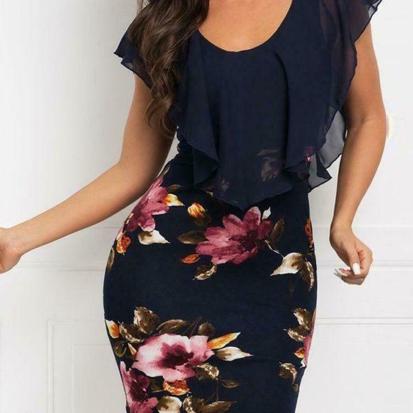 Dámské elegantní letní šaty Sandra