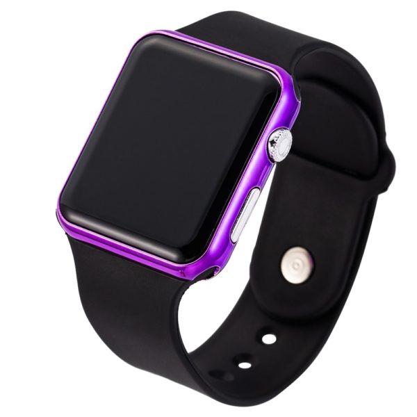 Stylové unisex sportovní LED hodinky
