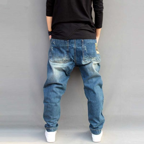 Pánské stylové džíny harémky Hadley   kolekce 2020