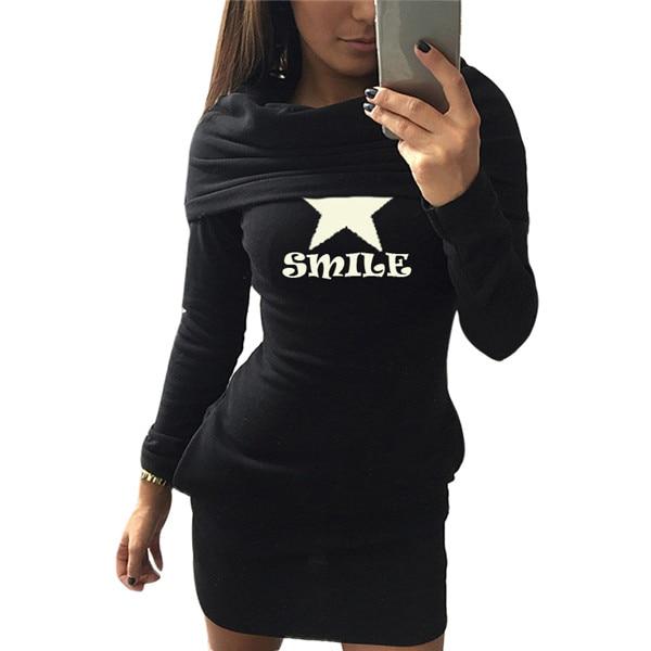 Dámské mikinové šaty Smile