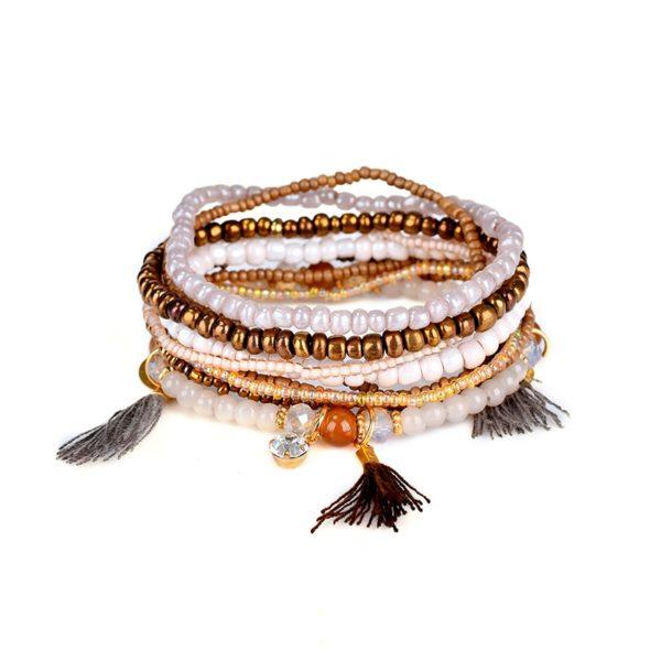 Dámský náramek s korálky Chantal