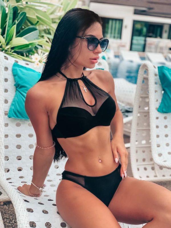 Dámské sexy černé plavky Gemma