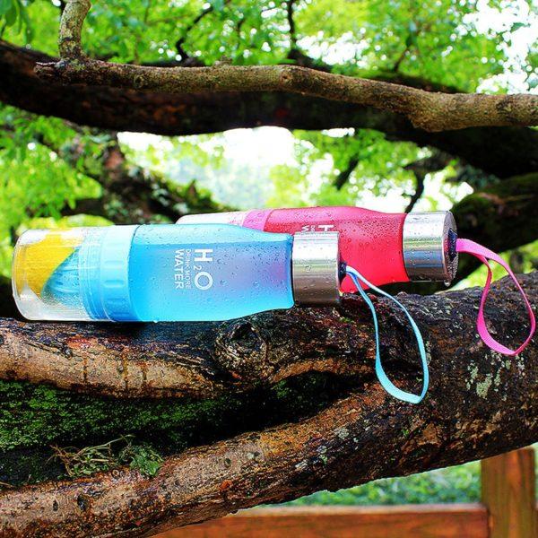 Luxusní praktická sportovní láhev
