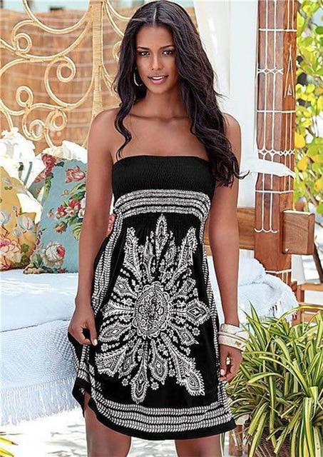 Dámské volnočasové letní šaty Gizell