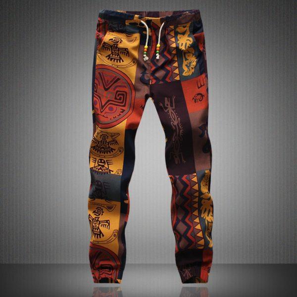 Pánské plátěné kalhoty Hawaii