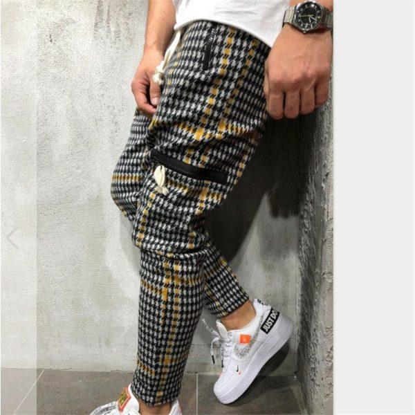 Pánské ležérní slim kalhoty Markus