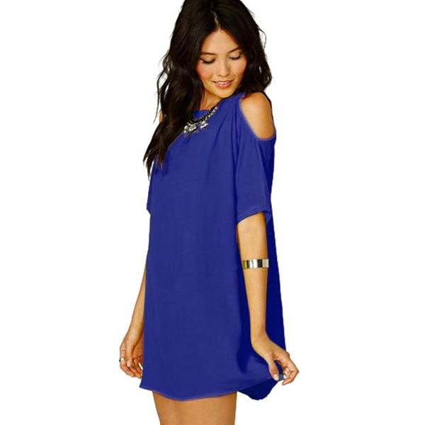 Dámské šaty s odhalenými rameny Nina