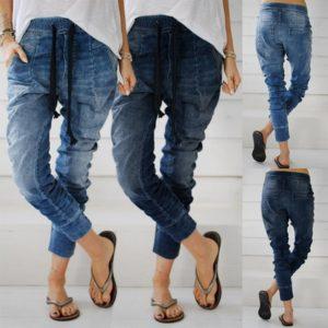 Dámské stylové baggy džíny