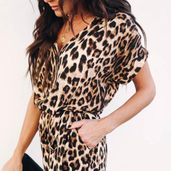 Dámský leopardí overal Yamilet