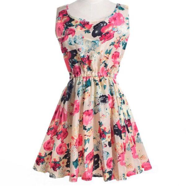 Dámské volnočasové letní šaty