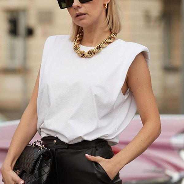 Dámské ležérní jednobarevné triko Elle