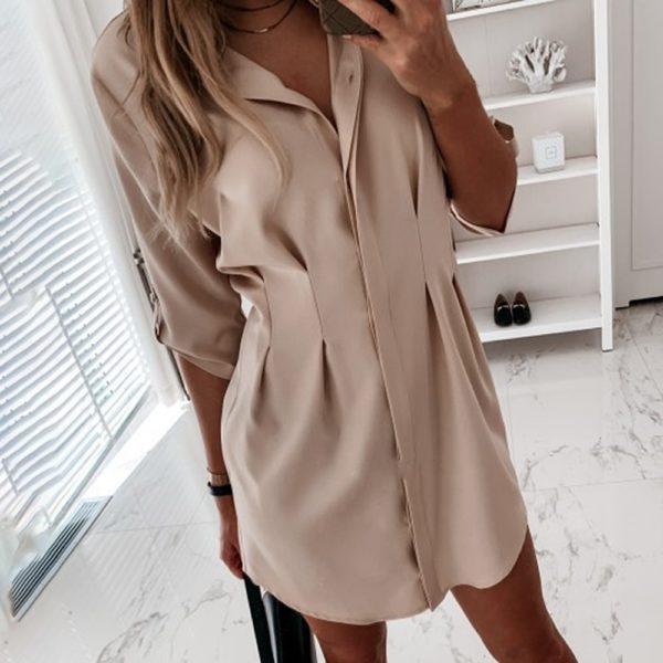 Dámské košilové mini šaty Iliana