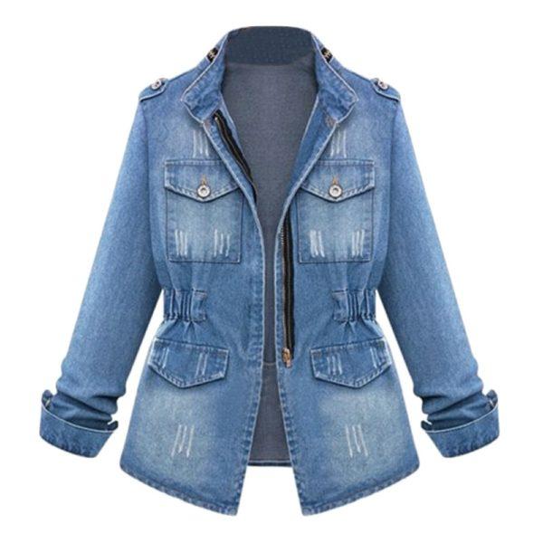 Dámské trendy džínové sako Jovany - kolekce 2020