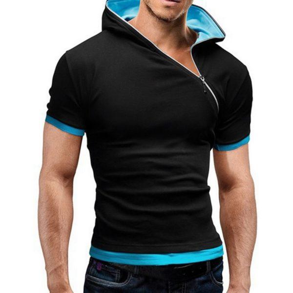 Pánské ležérní triko se zipem Cody – kolekce 2020