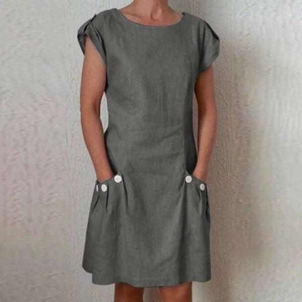 Dámské pytlové letní šaty Monica