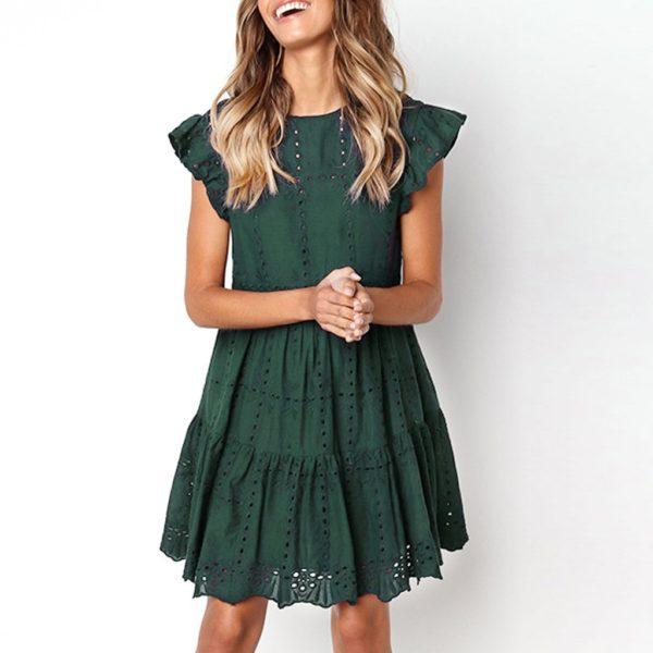 Dámské letní vzdušné šaty Robbins - kolekce 2020