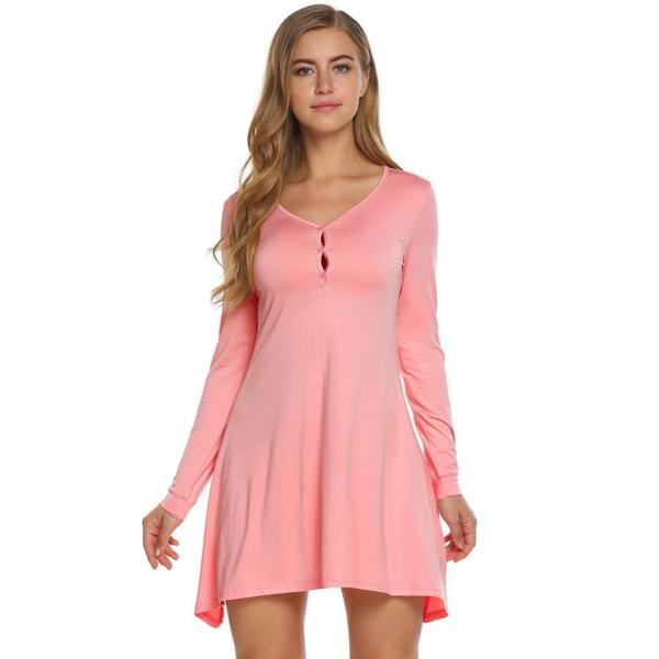 Dámské jednoduché letní šaty Beatha