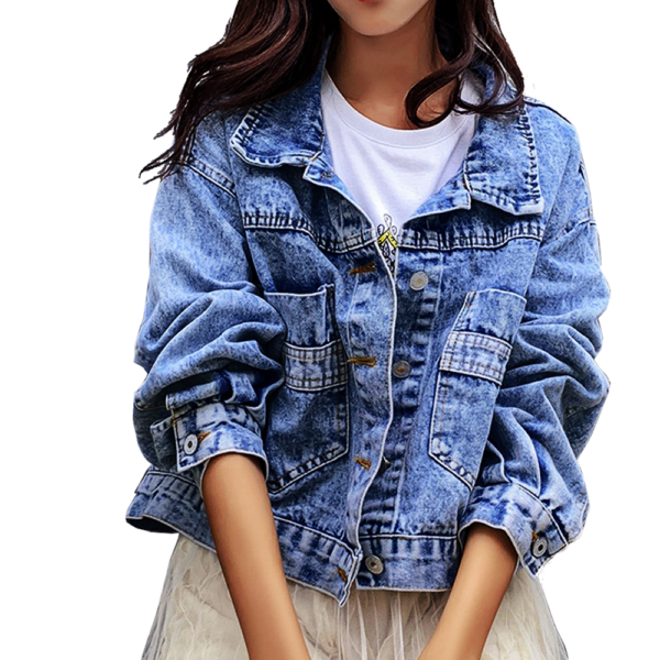 Dámská trendy džínová bunda Amelia