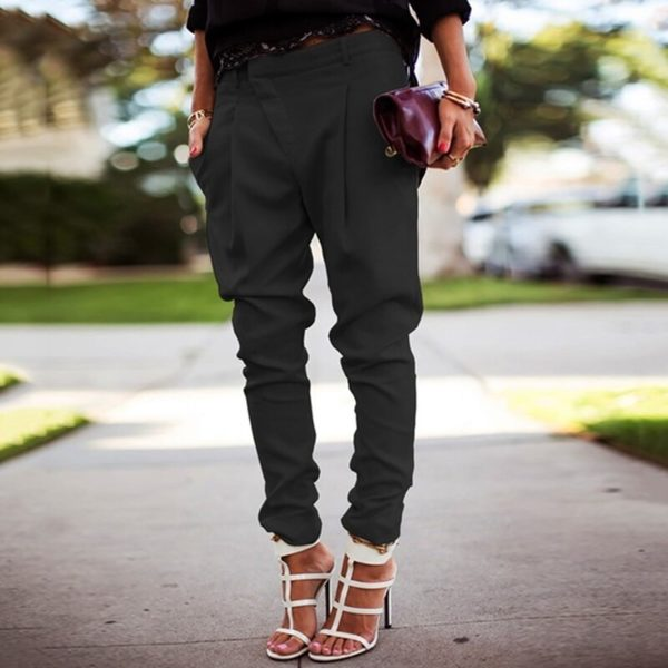 Dámské sportovně elegantní kalhoty Macie