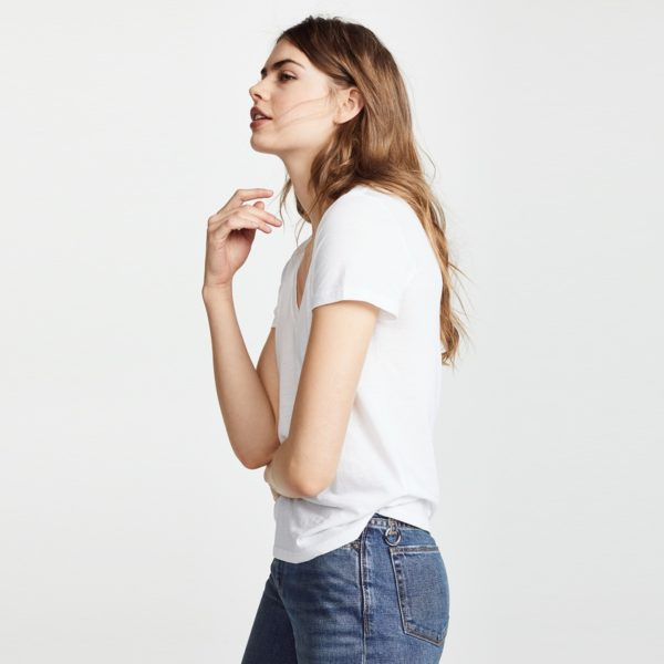 Dámské trendy triko s výstřihem Valerie
