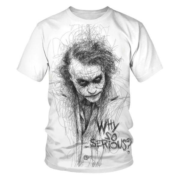 3D pánské tričko Joker