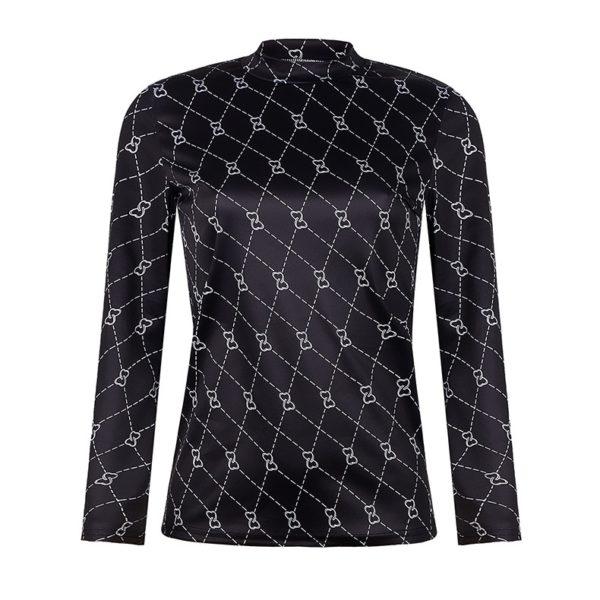 Dámské luxusní triko se vzorem Nathalia - kolekce 2020
