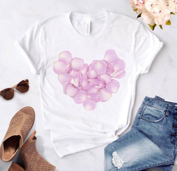 Dámské letní tričko Heart