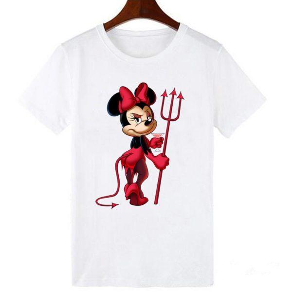 Dámské stylové tričko Devil Minnie