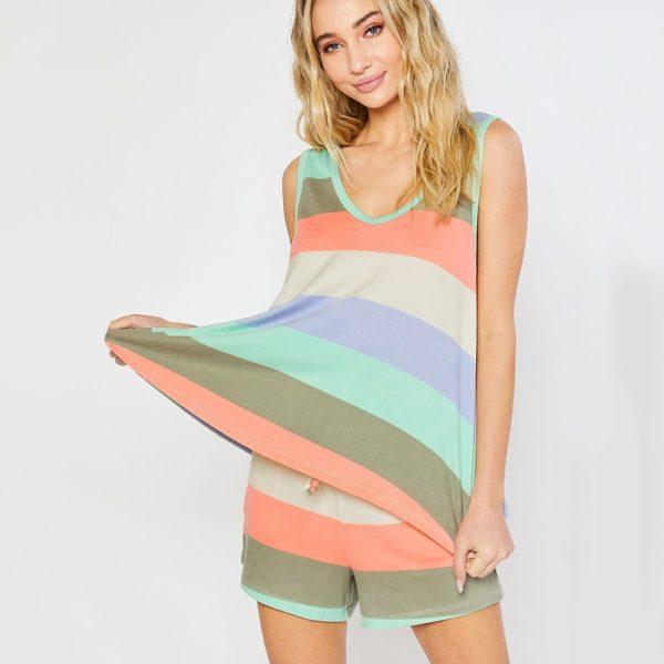 Dámská stylová pyžamová souprava Nathalia