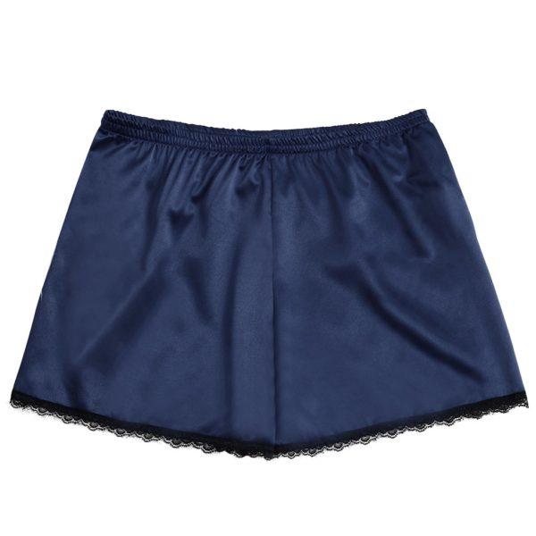 Dámské letní saténové šortky s krajkou Priscilla