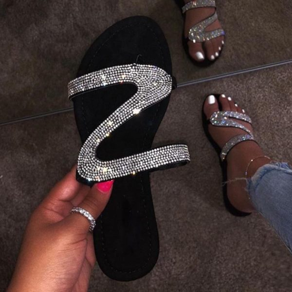 Dámské luxusní sandále Diamond