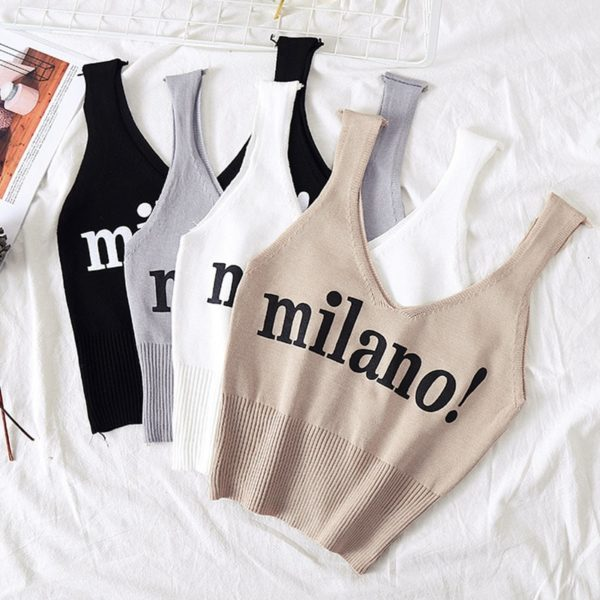 Dámský crop top Milano