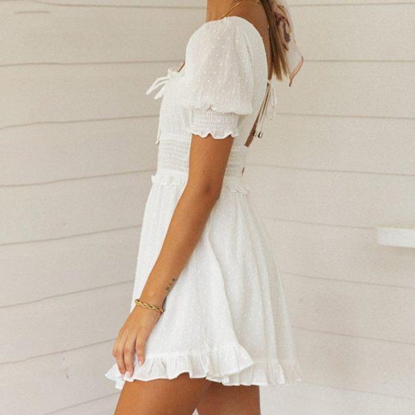 Dámské letní romantické šaty Rose - kolekce 2020