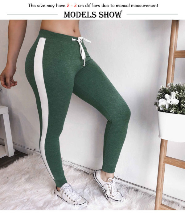 Dámské módní volnočasové kalhoty