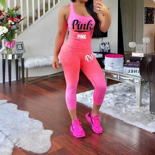 Dámský stylový fitness set Laura
