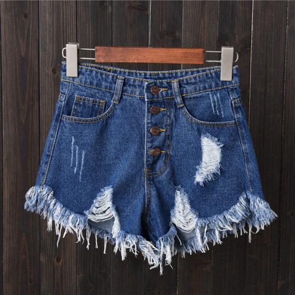 Dámské stylové denim šortky Linda